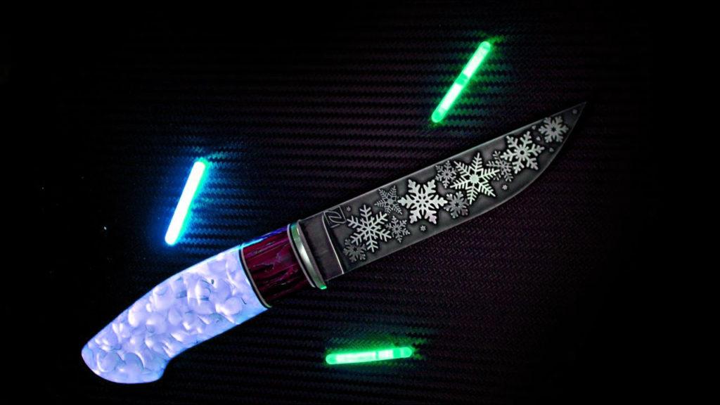 Нож из эпоксидной смолы: как изготовить красивую рукоятку