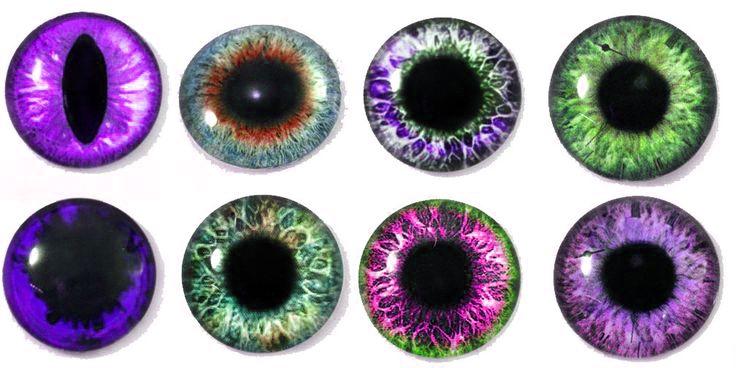 Глазки для игрушек из эпоксидной смолы